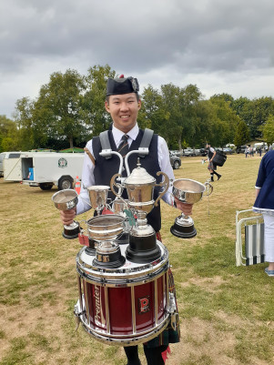 Patrick Chen pipe band