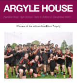 Argyle thumbnail Term 4 Week 8 newsletter